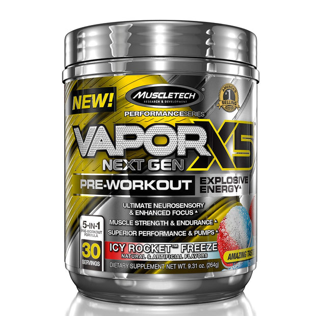 Muscletech Vapor X5 Icy Rocket Freeze