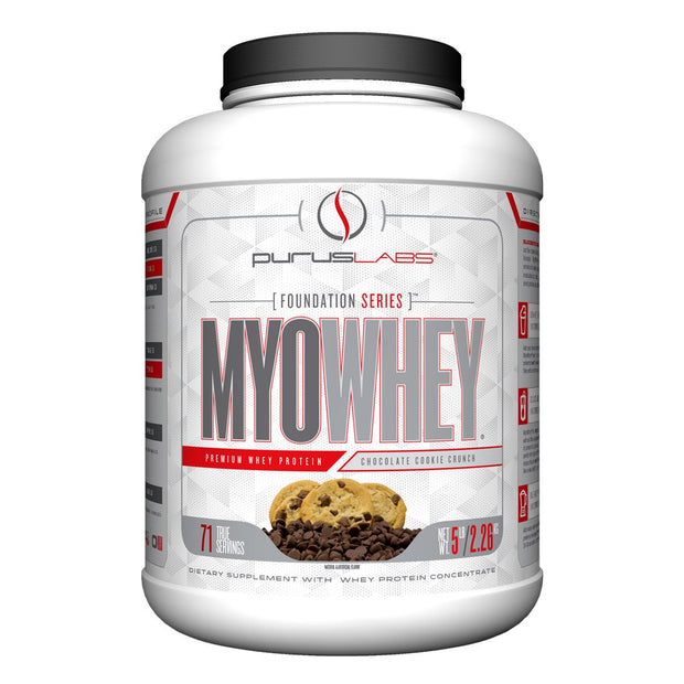 Purus Labs MyoWhey Protein Foundation Series