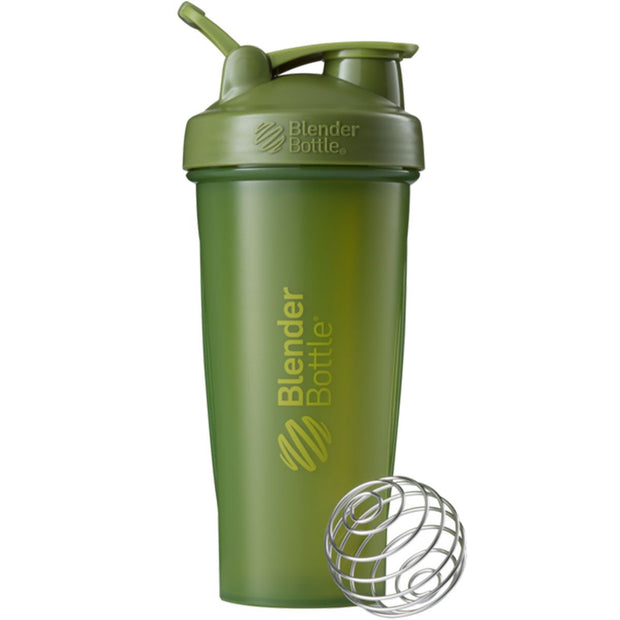 New Blender Bottle Classic Army Green Moss 28 Oz.