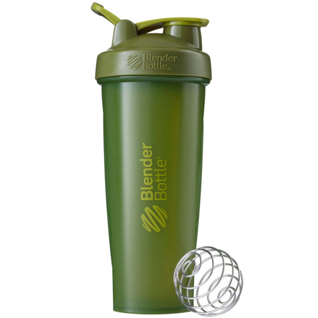 New Blender Bottle Classic Army Moss Green 32 Oz.