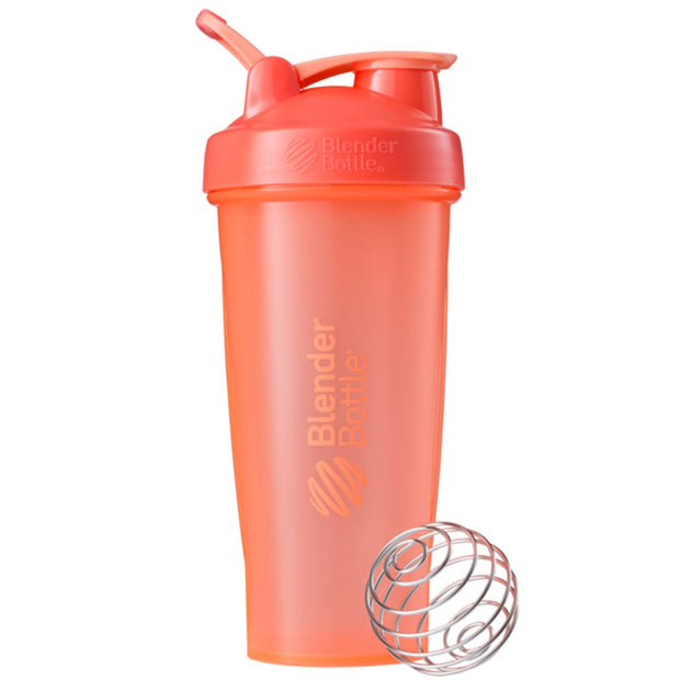 New Blender Bottle Classic Coral 28 Oz.
