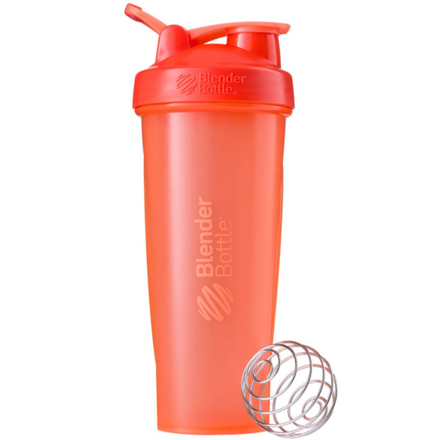 New Blender Bottle Classic Coral 32 Oz.