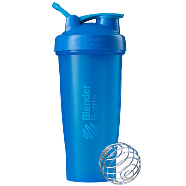 New Blender Bottle Classic Cyan 28 Oz.