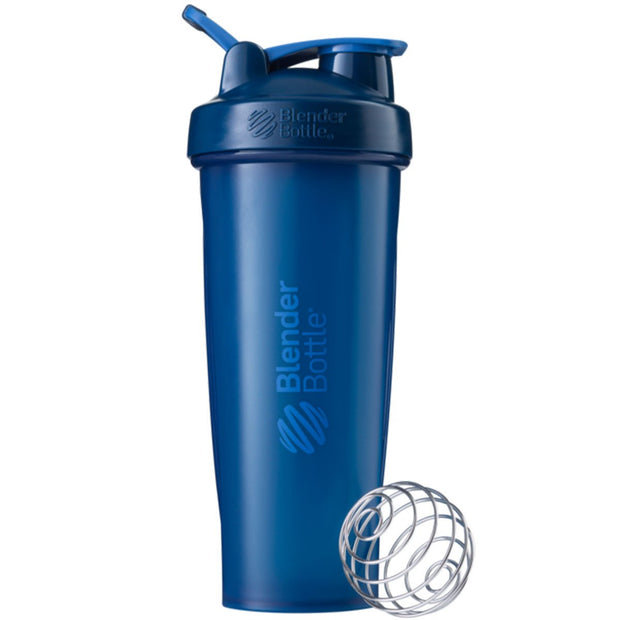 New Blender Bottle Classic Navy 32 Oz.