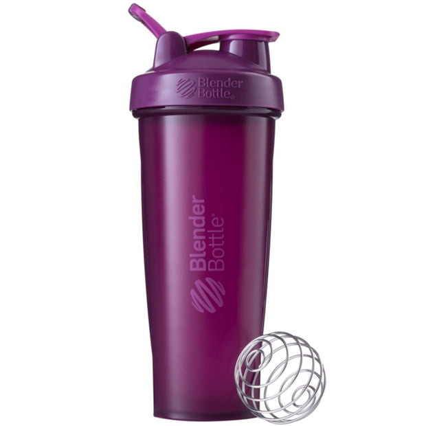 New Blender Bottle Classic Plum 32 Oz.