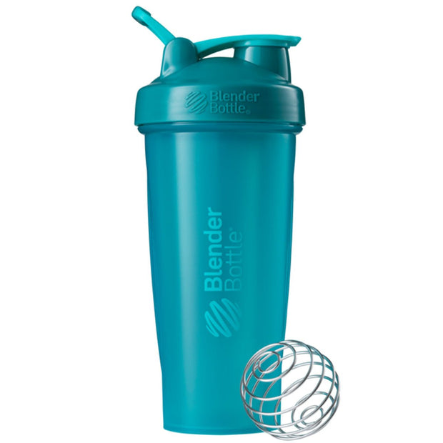 New Blender Bottle Classic Teal 28 Oz.