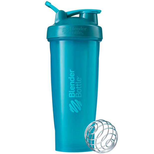 New Blender Bottle Classic Teal 32 Oz.