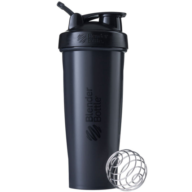 New Blender Bottle Classic Full Black 32 Oz.