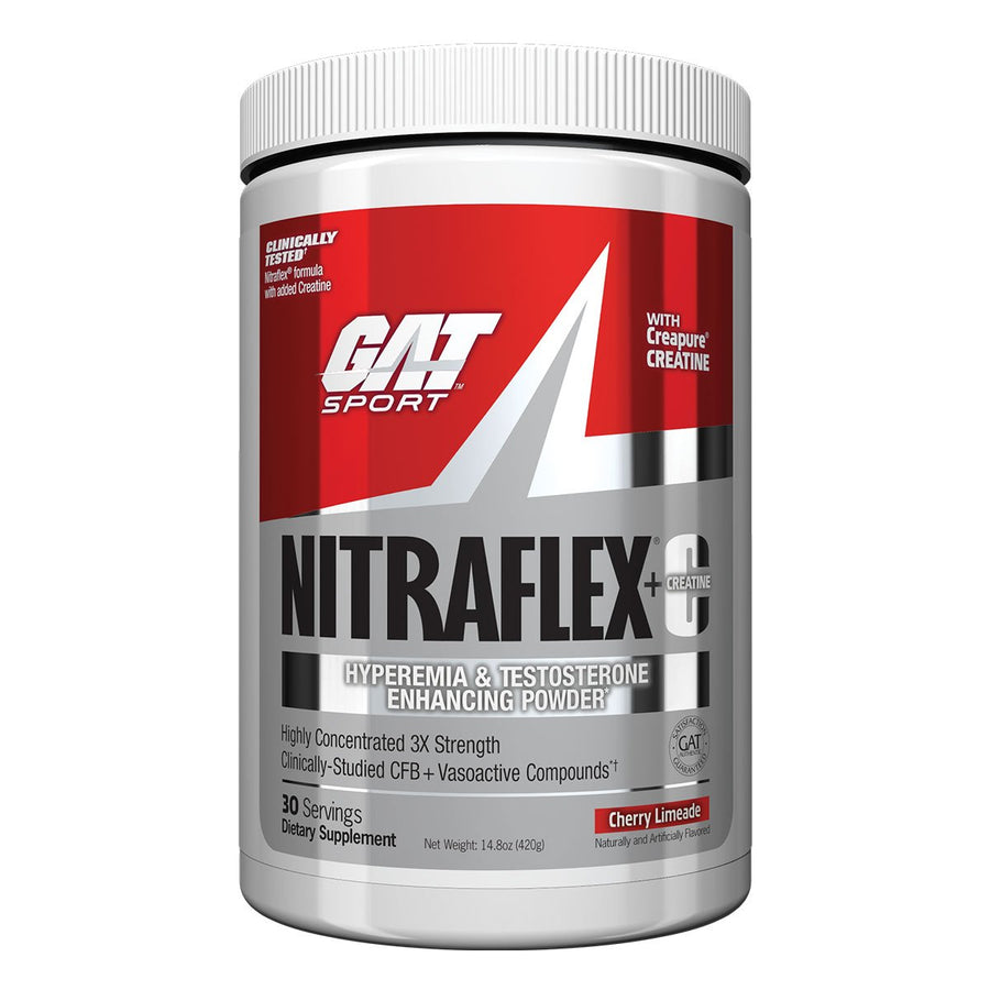GAT Sport Nitraflex Pre Workout with Creatine Rocket Pop
