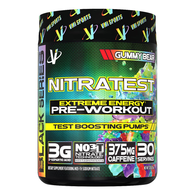 VMi Sports Nitratest Pre Workout Gummy Bear