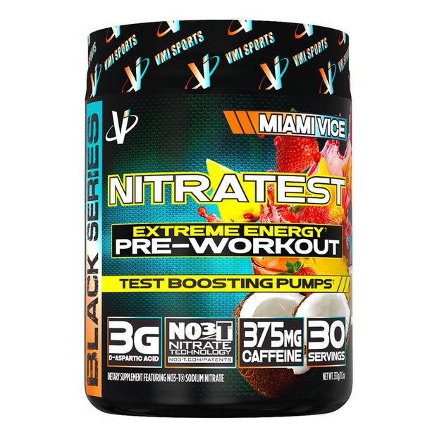 VMi Sports Nitratest Pre Workout Miami Vice