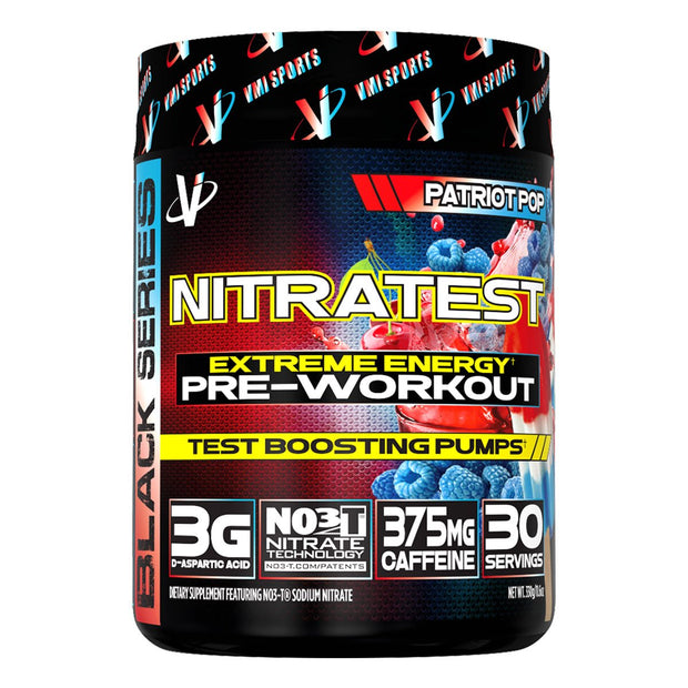 VMi Sports Nitratest Pre Workout Patriot Pop