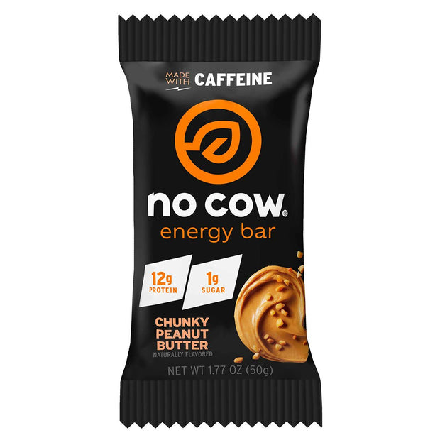 No Cow Energy Protein Bar Chunky Peanut Butter