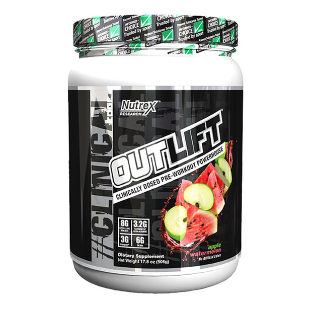 Nutrex Outlift Pre Workout Apple Watermelon