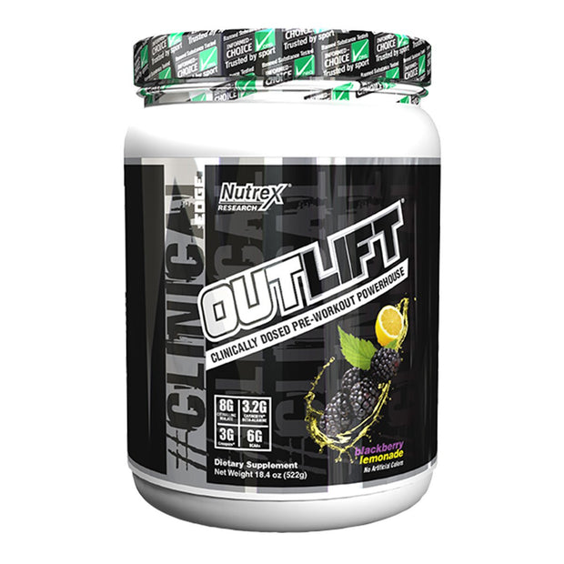 Nutrex Outlift Pre Workout Blackberry Lemonade