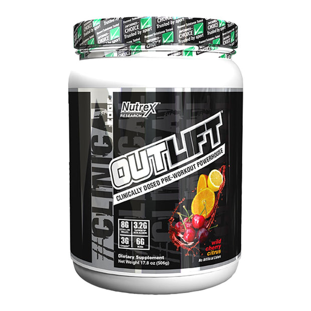 Nutrex Outlift Pre Workout Wild Chrerry Citrus