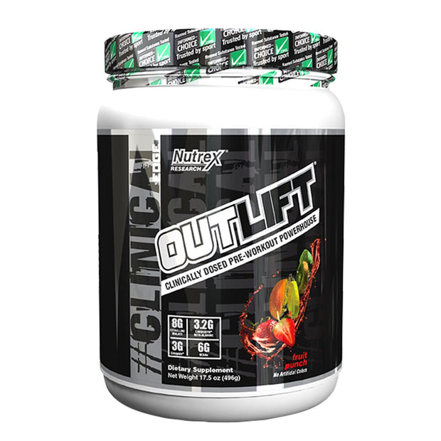 Nutrex Outlift Pre Workout Fruit Punch
