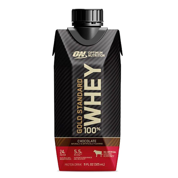 Optimum Nutrition ON Gold Standard 100% Whey Protein Shake RTD Chocolate