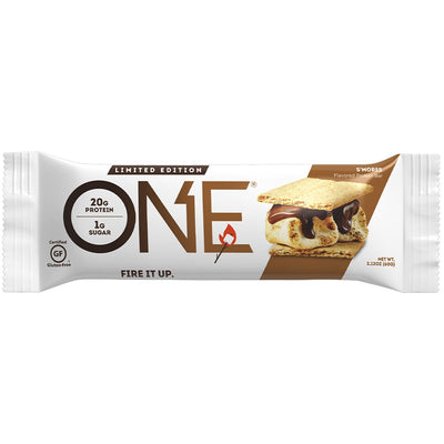 One1Brands ONE Protein Bar Smores Limited Edition