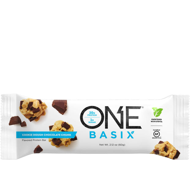 ONE Brand ONE Basix Protein Bar Cookie Dough Chocolate Chunk