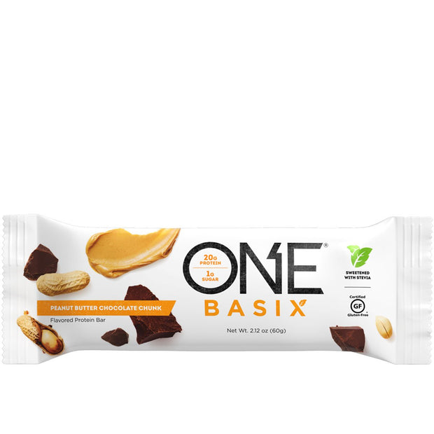 ONE Brand ONE Basix Protein Bar Peanut Butter Chocolate Chunk
