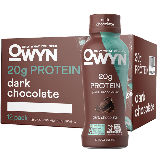 OWYN: Only What You Need Plant Based Protein Drink Dark Chocolate