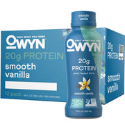 OWYN: Only What You Need Plant Based Protein Drink Smooth Vanilla