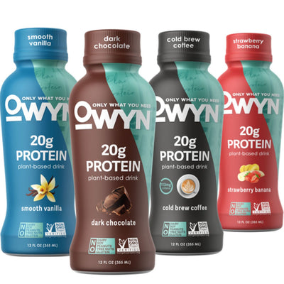 OWYN: Only What You Need Plant Based Protein Drink