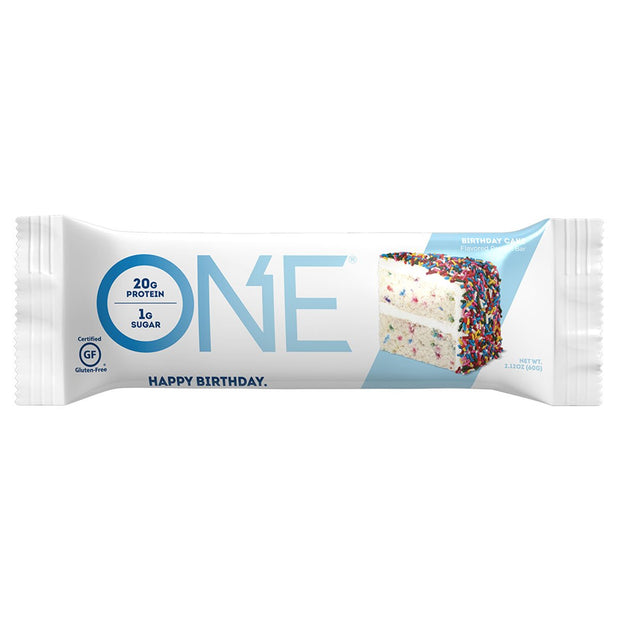 One1Brands ONE Protein Bar Birthday Cake