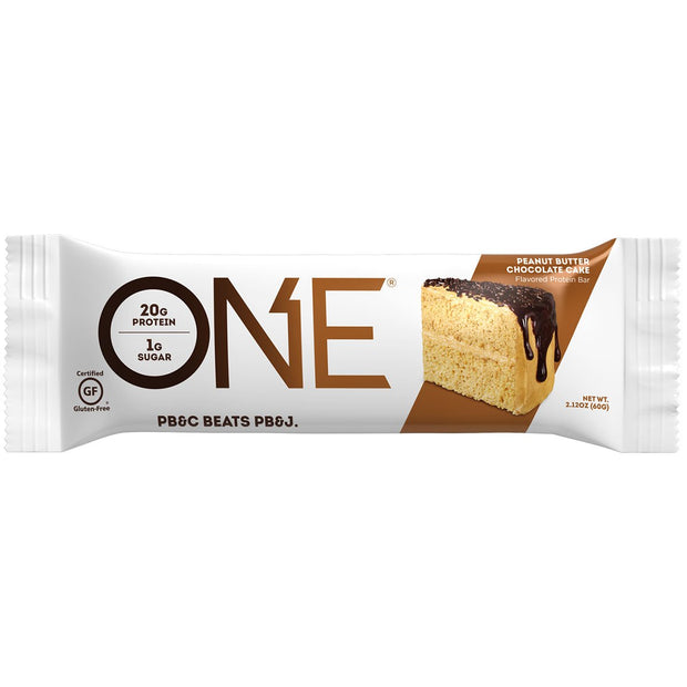 One1Brands ONE Protein Bar Peanut Butter Chocolate Cake