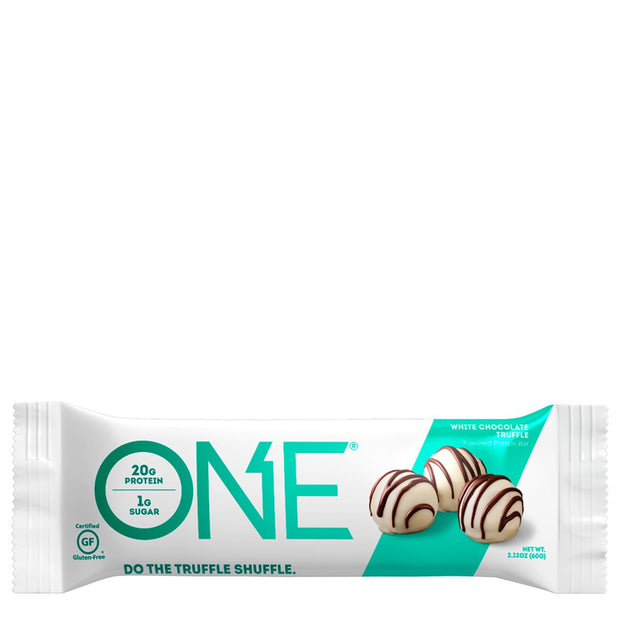One1Brands ONE Protein Bar White Chocolate Truffle