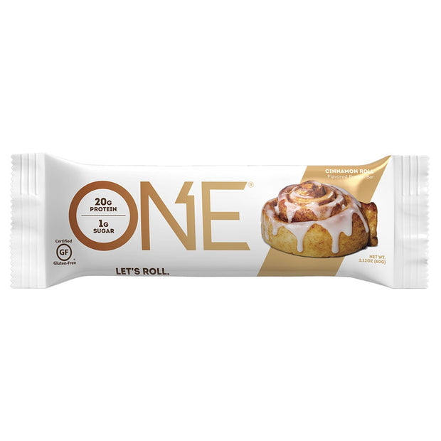One1Brands ONE Protein Bar Cinnamon Roll