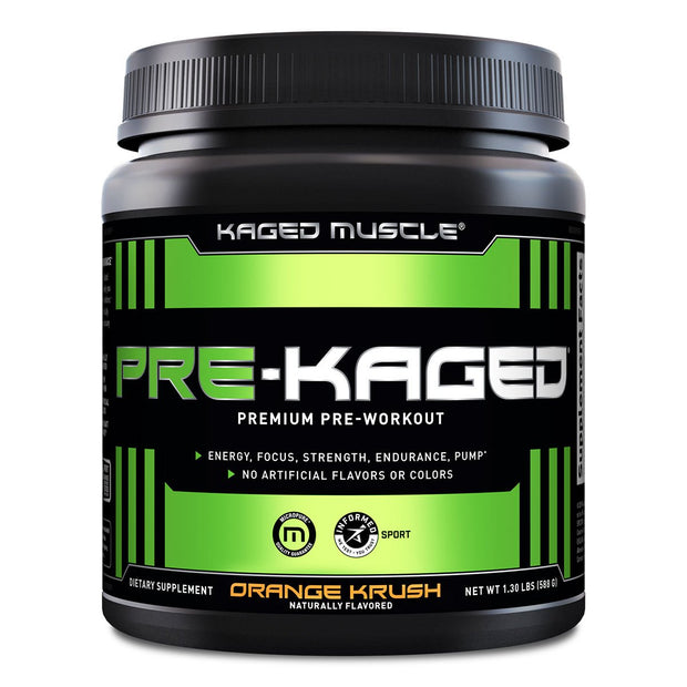 Kaged Muscle Pre Kaged Pre Workout Supplement  Orange Krush