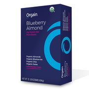 Orgain Organic Protein Bar vegan Blueberry Almond
