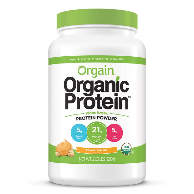 Orgain Organic Protein Plant Based Vegan Peanut Butter