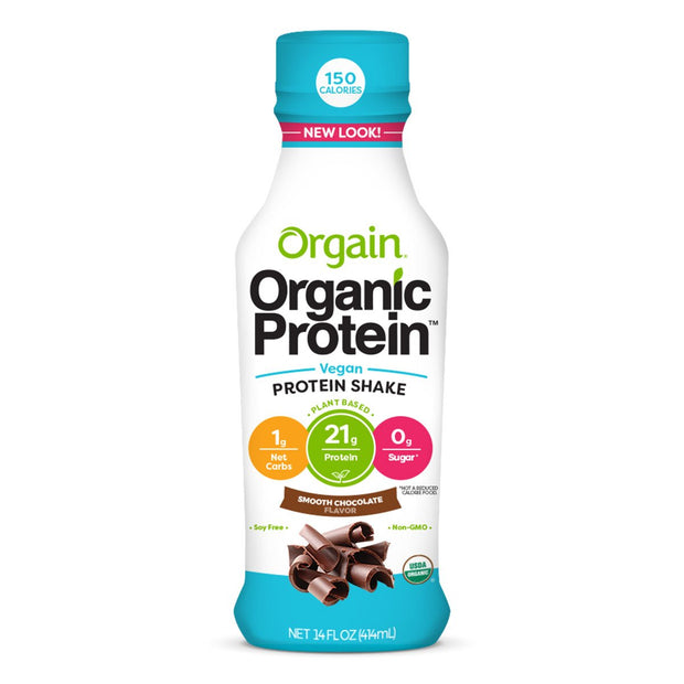 Orgain Organic Protein Plant Based Chocolate