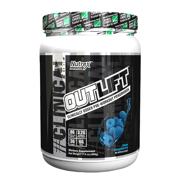 Nutrex Outlift Pre Workout Blue Raspberry