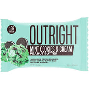 Outright Mint Cookies and Cream Peanut Butter Bar