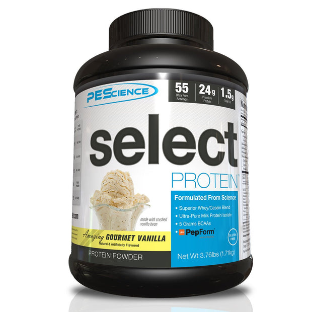 PEScience Select Protein Amazing Gourmet Vanilla 55 Servings
