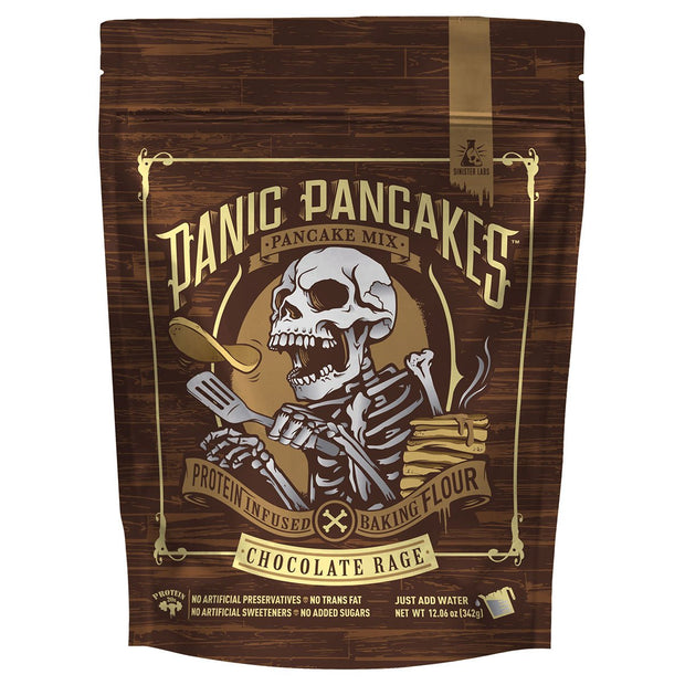 Sinister Labs Panic Pancakes Mix Chocolate Blaze
