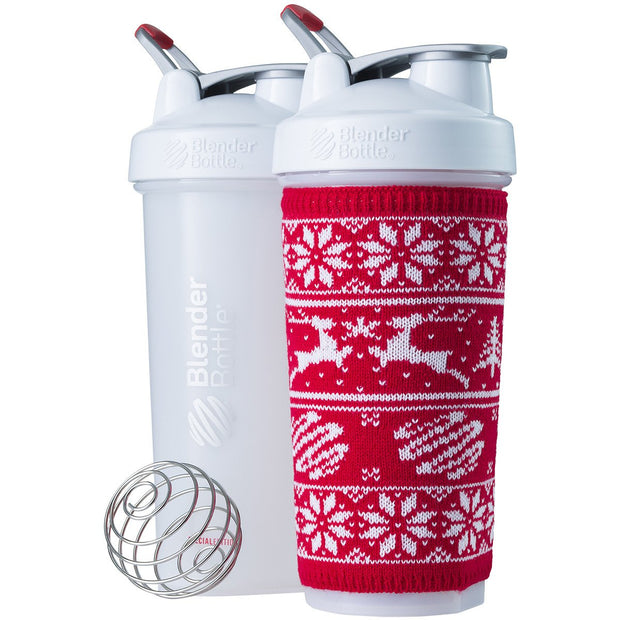 BlenderBottle Color of the Month: Peppermint with Sleeve