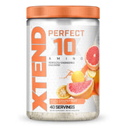 Scivation Xtend Perfect 10 Amino Acid EAA Supplement Yuza Grapefruit