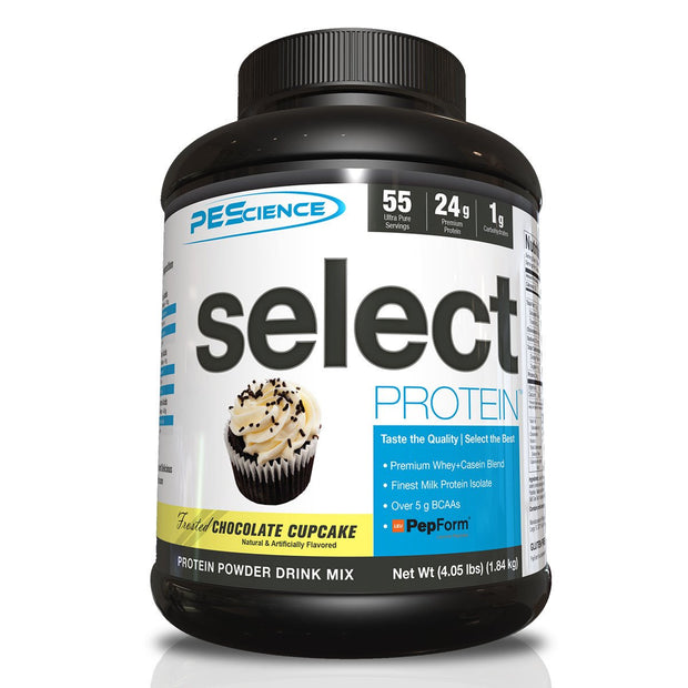PeScience Select Protein Frosted Chocolate Cupcake 55 Servings