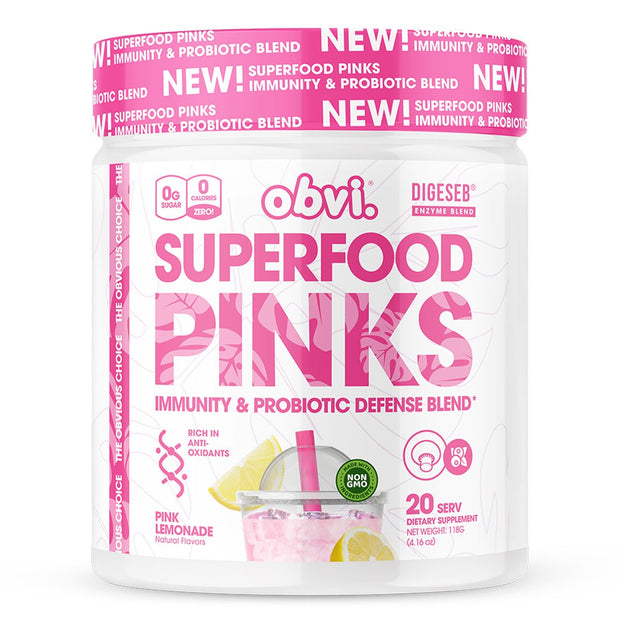 Superfood Pinks Immunity and Defense by Obvi