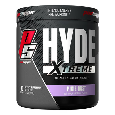 Pro Supps HYDE Xtreme Pre Workout Powder Supplement Pixie Dust