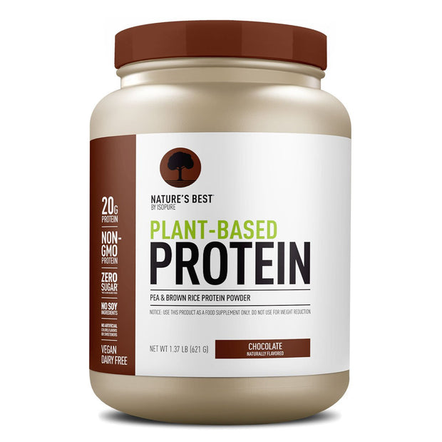 Nature's Best Plant Based Protein by ISOPURE Chocolate