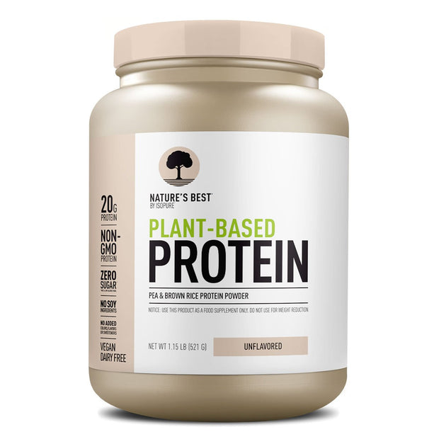 Nature's Best Plant Based Protein by ISOPURE Unflavored
