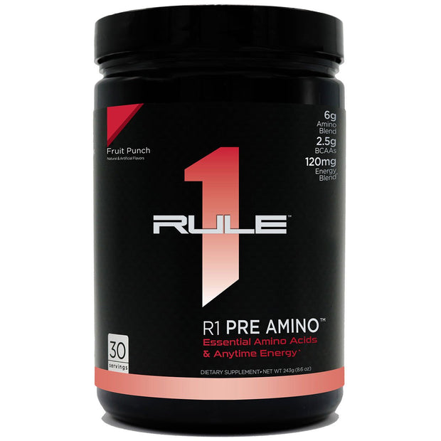 Rule1 Proteins R1 Pre Amino Fruit Punch