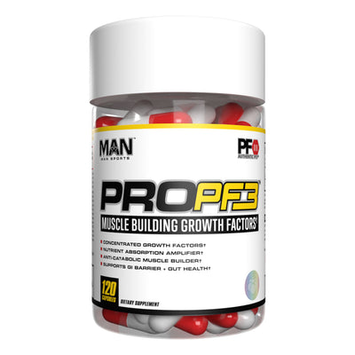 MAN Sports ProPF3 Muscle Building Growth Factor Supplement