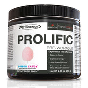 PEScience Prolific Pre Workout Cotton Candy